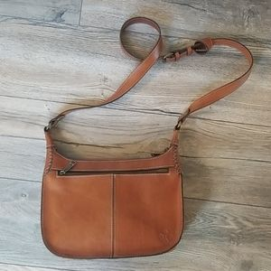 Patricia Nash Bags - Patricia Nash Brown Leather Saddle Purse